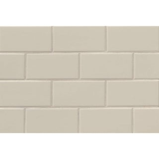 Bedrosians Tradition Gloss Ceramic Tile (Case of 80) (Option: Taupe)