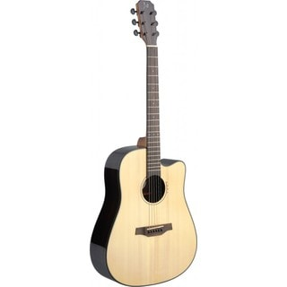 James Neligan LYN-DCFI Lyne Series Natural Dreadnought Cutaway Acoustic/Electric Guitar