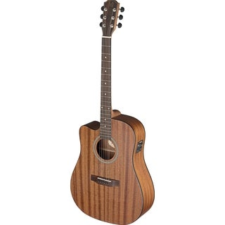 James Neligan DEV-DCFI LH Deveron Series Left-handed Dreadnought Cutaway Acoustic Electric Guitar