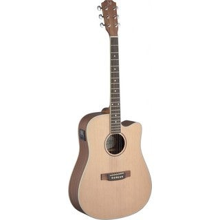 James Neligan Asyla Series Mahogany and Rosewood Dreadnought Cutaway Acoustic/Electric Guitar