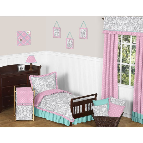 Sweet Jojo Designs Skylar Toddler 5-piece Comforter Set
