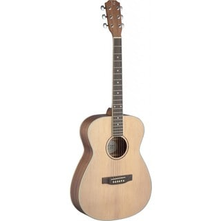 James Neligan ASY-A Asyla Series Natural Finish Mahogany Wood Auditorium Acoustic Guitar