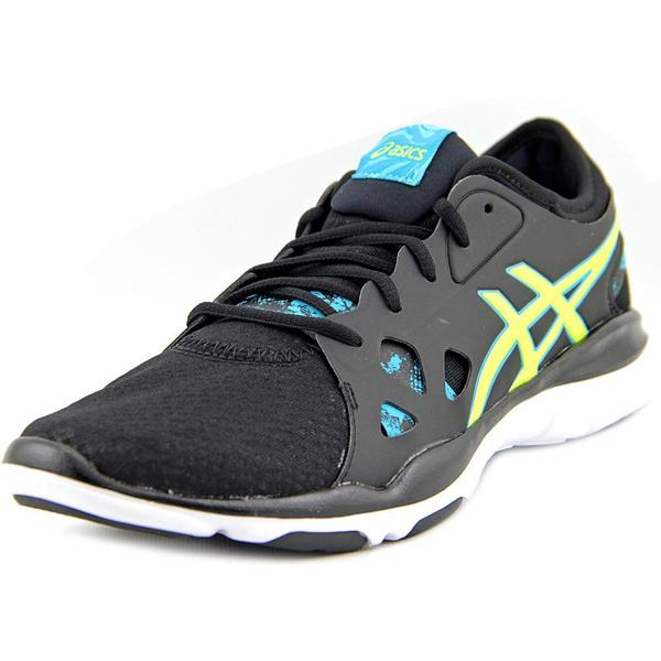 113c8969f721 Shop Asics Women s  Gel-Fit Nova 2  Black Mesh Athletic Shoes - Free ...