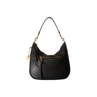 Marc Jacobs Recruit Black Leather Hobo Handbag