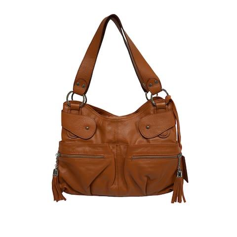 Donna Bella Designs Giavanni Leather Tote Bag