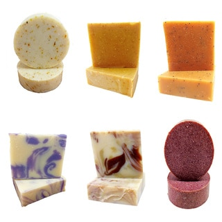 Fabulous 6 Handmade, Natural Soap by Karess Krafters Apothecary