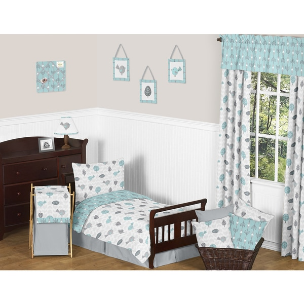 Sweet Jojo Designs Earth and Sky Toddler 5-piece Comforter Set