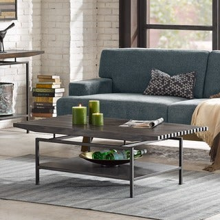 INK+IVY Slat Morocco Coffee Table