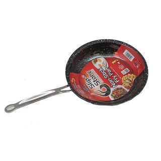 Slip Stone Bakelite and Aluminum 10-inch Non-Stick Fry Pan