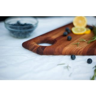 The Abby Chop Bloc Cherry Cutting Board