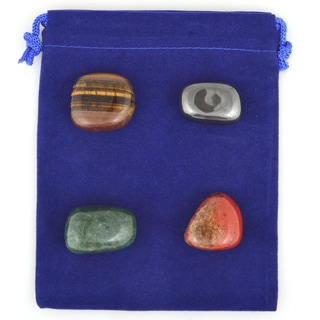 Healing Stones for You Yin Yang Balance Intention Stone Set YYBIB