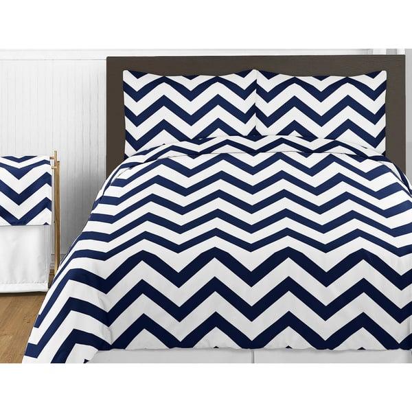 Sweet Jojo Designs Navy Blue And
