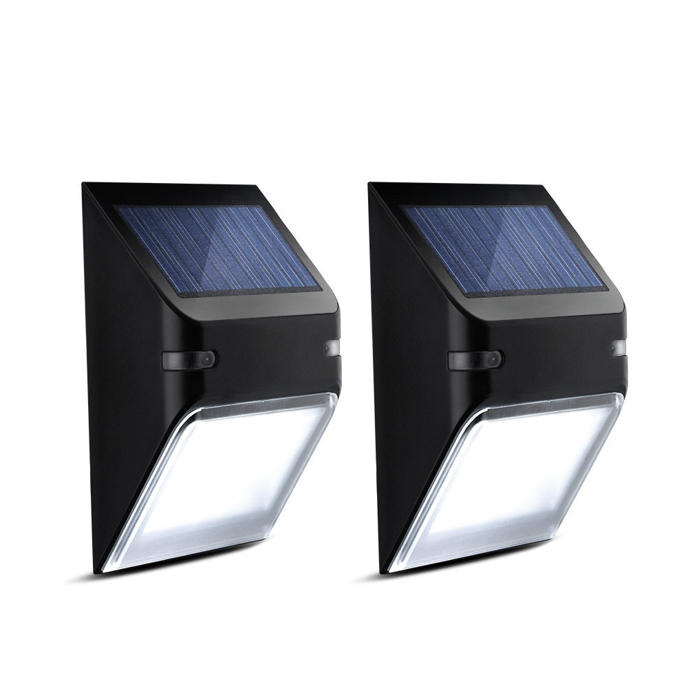 Coutlet Solar-powered LED Energy-efficient Wall Lamp (Set...