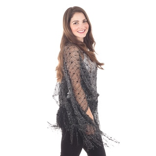 Delicate Netted Poncho