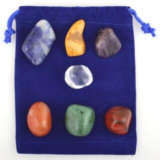 Healing Stones for You 7 Stone Basic Chakra Balance Set