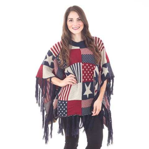 Patriotic Pride Poncho