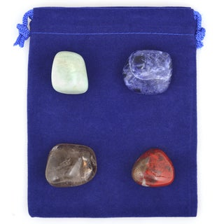 Healing Stones for You Clear Electronic Smog Intention Stone Set CESB