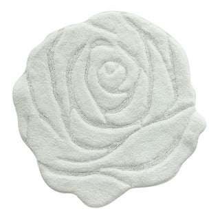 Jessica Simpson Naomi Floral Bath Rug (2 options available)