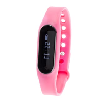 Zunammy Pink Bluetooth Heart Rate Monitor Activity Tracker w/ Touchscreen