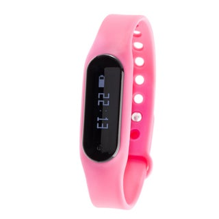Zunammy Pink Bluetooth Heart Rate Monitor Activity Tracker w/ Touchscreen https://ak1.ostkcdn.com/images/products/13004044/P19748257.jpg?_ostk_perf_=percv&impolicy=medium