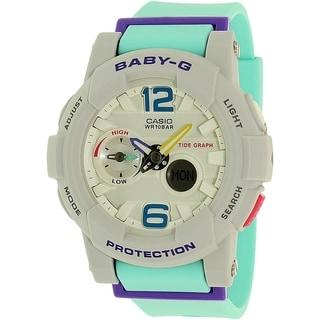 Casio Baby-G Grey Resin Quartz Women's Watch