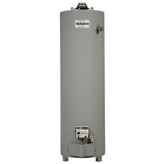 "Reliance 6 40 UNBCT 58-1/4"" 40 Gallon Gas Water Heater"