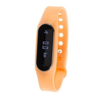 Zunammy Orange Bluetooth Heart Rate Monitor Activity Tracker w/ Touchscreen