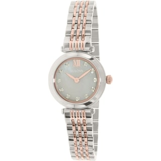Bulova Women's Sterling Silver Diamond Quartz Watch