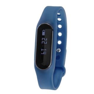 Zunammy Navy Blue Bluetooth Heart Rate Monitor Activity Tracker w/ Touchscreen