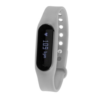 Zunammy Grey Bluetooth Heart Rate Monitor Activity Tracker w/ Touchscreen