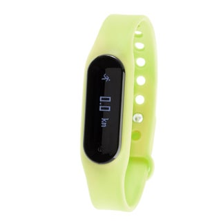 Zunammy Green Bluetooth Heart Rate Monitor Activity Tracker w/ Touchscreen