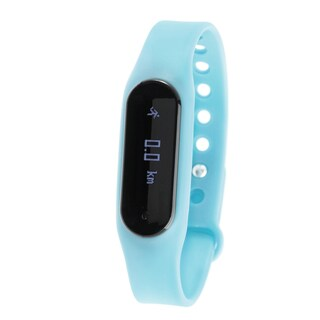 Zunammy Blue Bluetooth Heart Rate Monitor Activity Tracker w/ Touchscreen