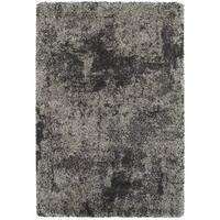 Granite Dark Grey/Charcoal Shag Rug - 9'10 x 12'10