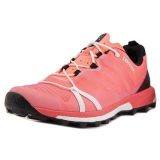 Adidas Women's Outdoor 2016 Terrex Agravic Orange Textile Athletic Shoes