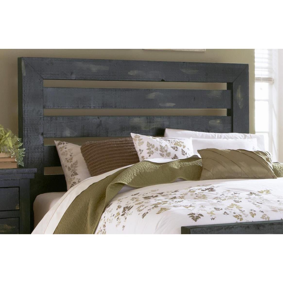 Willlow Pine Distressed Black Headboard Overstock 13004288