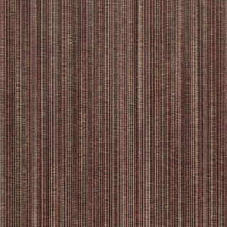 Brewster Pino Red Striped Textured Wallpaper