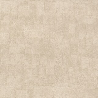 Brewster Davidio Tan Vinyl Neutral Square Textured Wallpaper