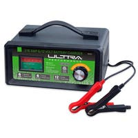 Ultra Performance Green Metal Manual Battery Charger