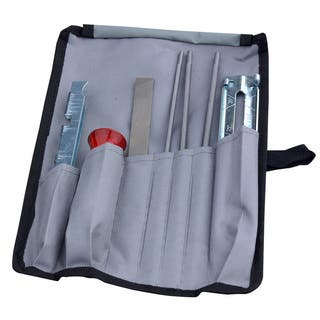 Blue Max 8-piece Saw Chain Sharpening Kit with Blue Nylon Pouch|https://ak1.ostkcdn.com/images/products/13004345/P19748553.jpg?impolicy=medium