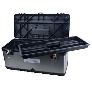 Steel Core Stainless Steel 22.5-inch Toolbox