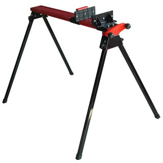 Professional Woodworker Folding Metal Sawhorse with Clamp