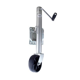 Speedway Silvertone Stainless Steel Heavy-duty 1000-pound Trailer Jack with Bolt on Mount and Swing