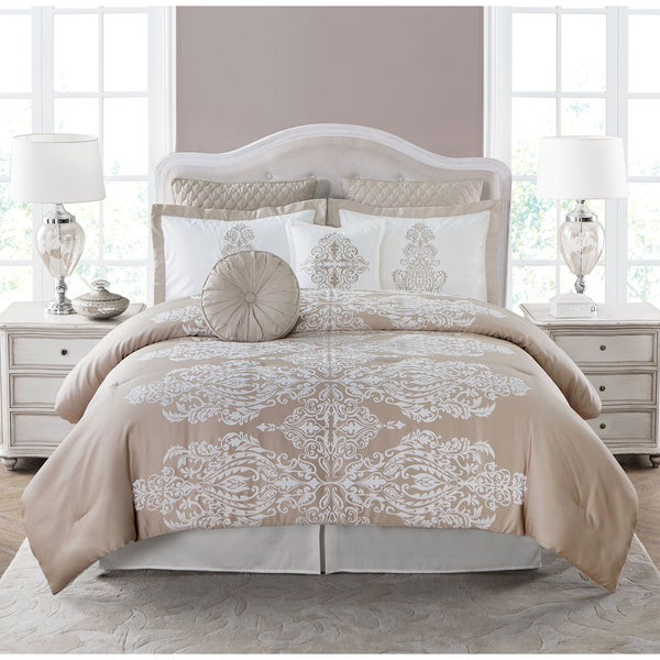 Jane Seymour Collection Empress 8 Piece Comforter Set