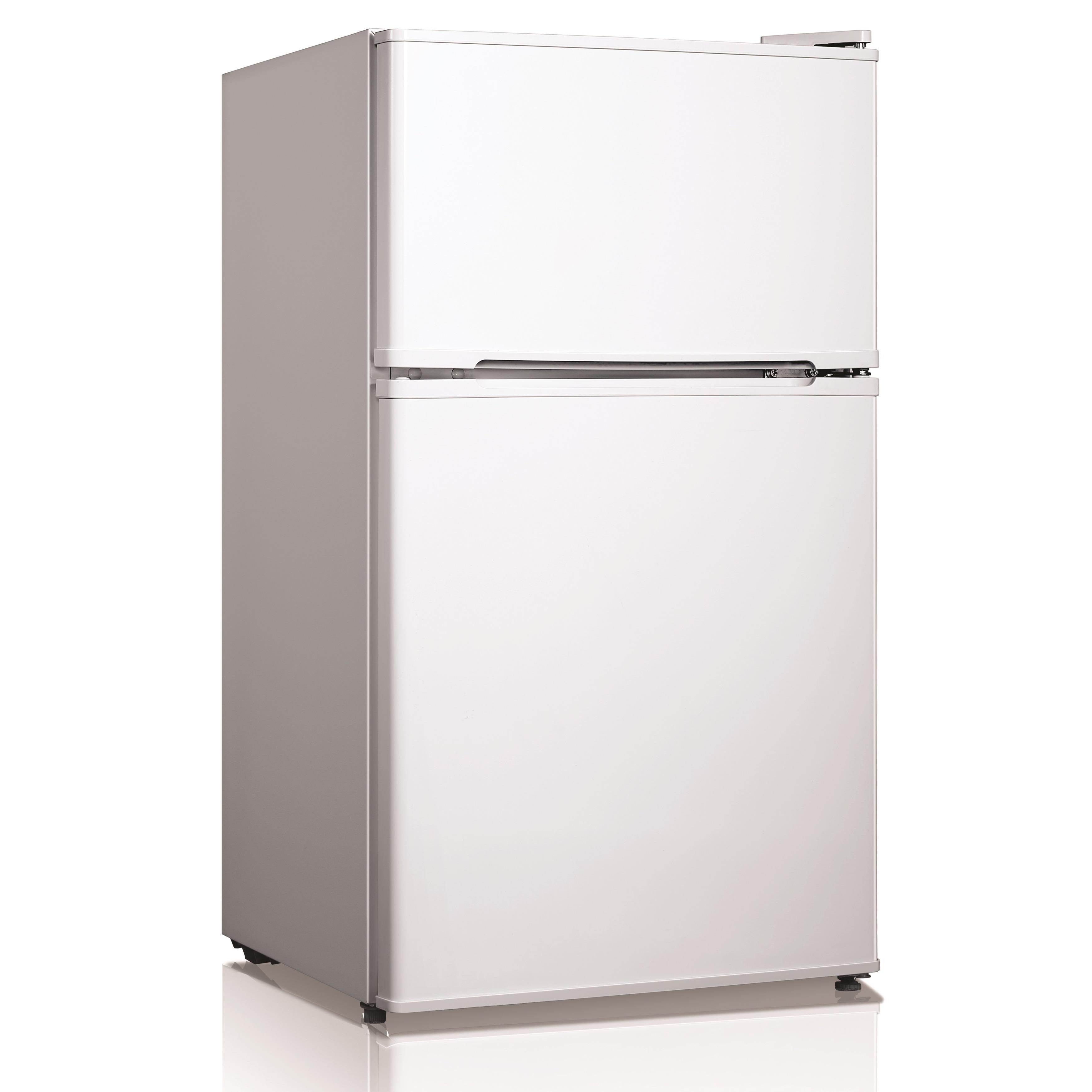 Midea 2 Door Refrigerator, White