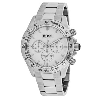 Link to Hugo Boss Men's 1512962 'Classic' Chronograph Stainless Steel Watch - White Similar Items in Men's Watches