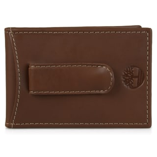 Timberland Men's Genuine Leather Flip Clip Wallet