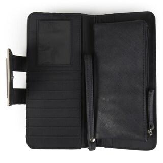Kenneth Cole Reaction Women's Striped Tab Clutch Wallet