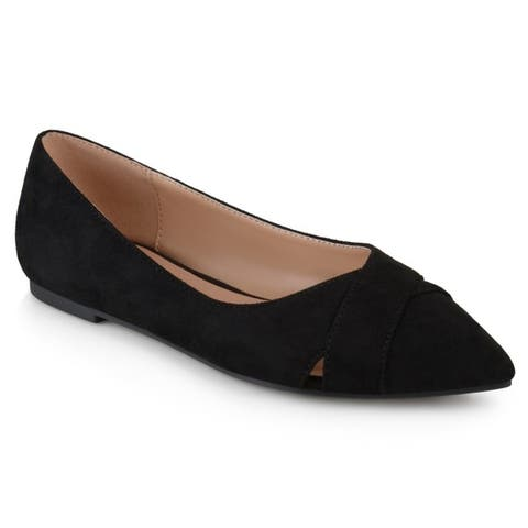 8c5ccc004 Buy Black, Pointed Women's Flats Online at Overstock | Our Best ...