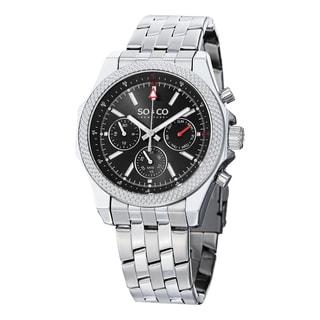 SO & CO New York Men's Stainless Steel Link Bracelet Watch