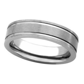 Men's Titanium Band - Silver